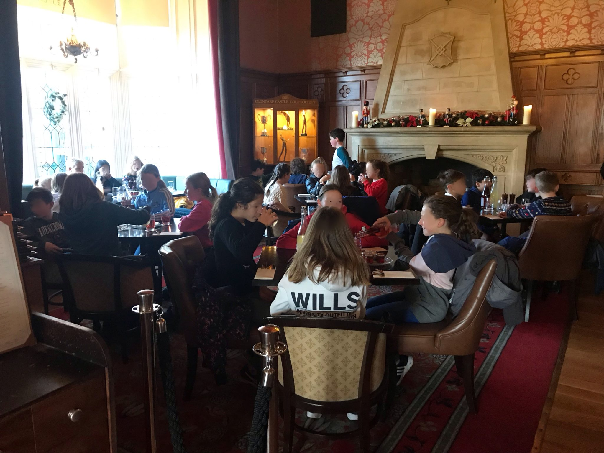 Christmas Lunch At Clontarf Castle 🎄