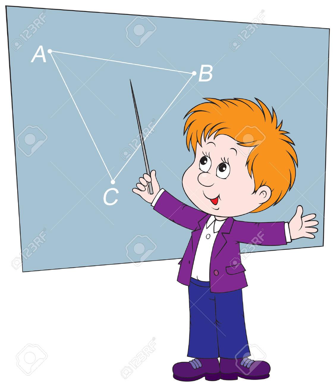 Image Gallery Mathematician Cartoon