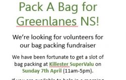 Pack a Bag for Greenlanes NS